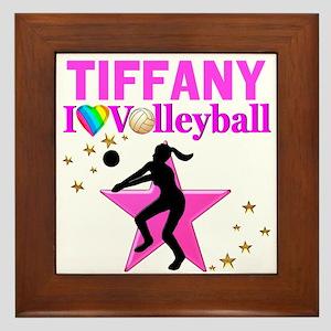 CUSTOM VOLLEYBALL Framed Tile