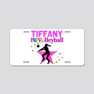 CUSTOM VOLLEYBALL Aluminum License Plate
