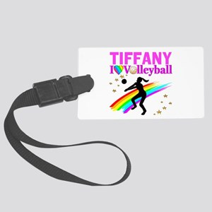 CUSTOM VOLLEYBALL Large Luggage Tag
