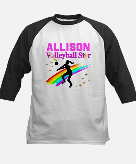 CUSTOM VOLLEYBALL Kids Baseball Jersey