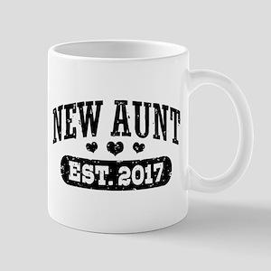 New Aunt Est. 2017 Mug