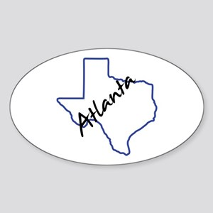 Atlanta Texas Sticker