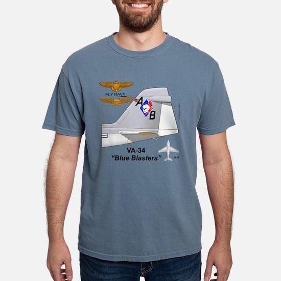 A-6 Intruder Va-34 Blue Blasters T-Shirt