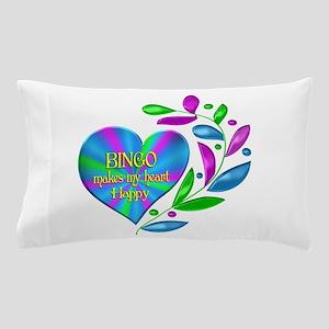 Bingo Happy Heart Pillow Case