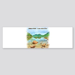 Jordan Pond - Acadia National Park Bumper Sticker