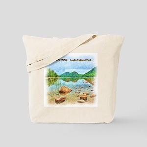 Jordan Pond - Acadia National Park Tote Bag