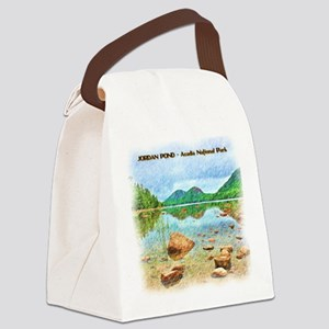 Jordan Pond - Acadia National Par Canvas Lunch Bag