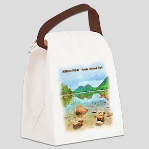 Jordan Pond - Acadia National Par Canvas Lunch Bag