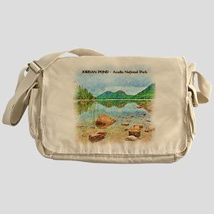 Jordan Pond - Acadia National Park Messenger Bag
