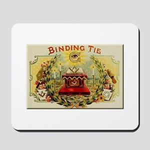 Mason's Binding Tie Mousepad