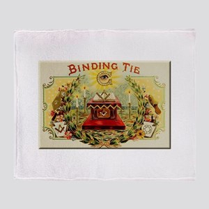 Mason's Binding Tie Throw Blanket