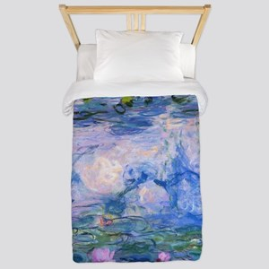 WATER LILIES CLAUDE MONET Twin Duvet