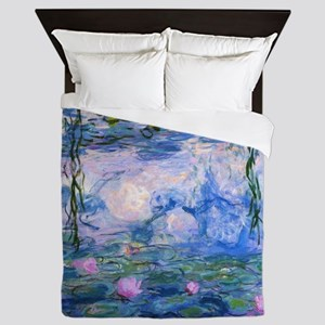 WATER LILIES CLAUDE MONET Queen Duvet