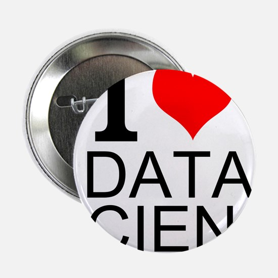 "I Love Data Science 2.25"" Button (10 pack)"