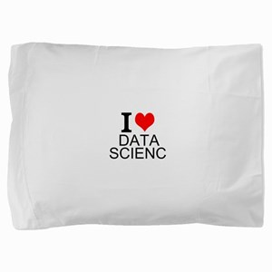 I Love Data Science Pillow Sham