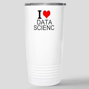 I Love Data Science Travel Mug