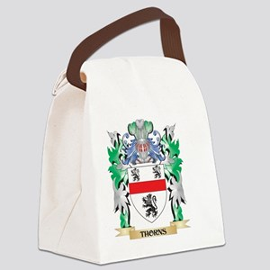 Thorns Coat of Arms - Family Cres Canvas Lunch Bag