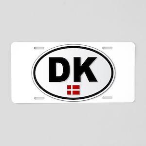DK Platea Aluminum License Plate