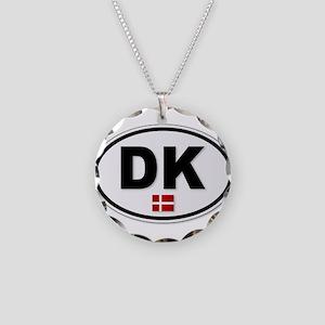 DK Platea Necklace Circle Charm