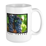 ripe grapes napa valley large coffee mugs