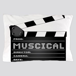 Musical Movie Clapperboard Pillow Case