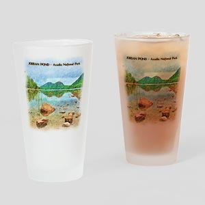 Jordan Pond - Acadia National Park Drinking Glass