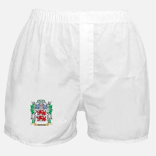 Tiernan Coat of Arms - Family Crest Boxer Shorts