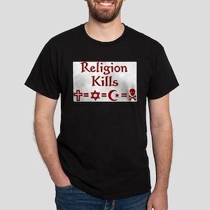Religion Kills Ash Grey T-Shirt