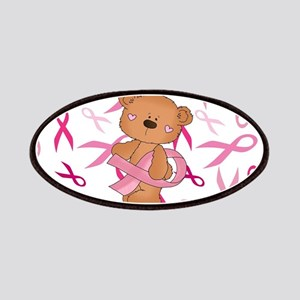 Breast Cancer Awareness Bear Patch