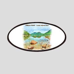 Jordan Pond - Acadia National Park Patch