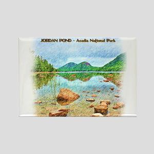 Jordan Pond - Acadia National Park Magnets