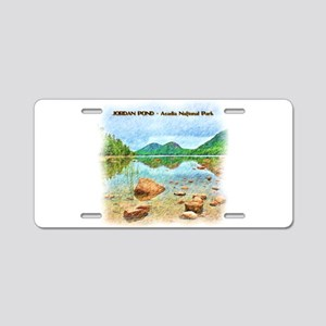Jordan Pond - Acadia Nation Aluminum License Plate