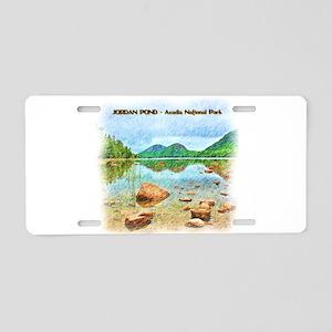 Jordan Pond - Acadia Nation Aluminum License Plate
