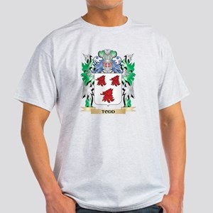 Todd Coat of Arms - Family Crest T-Shirt