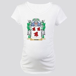 Todd Coat of Arms - Family Crest Maternity T-Shirt