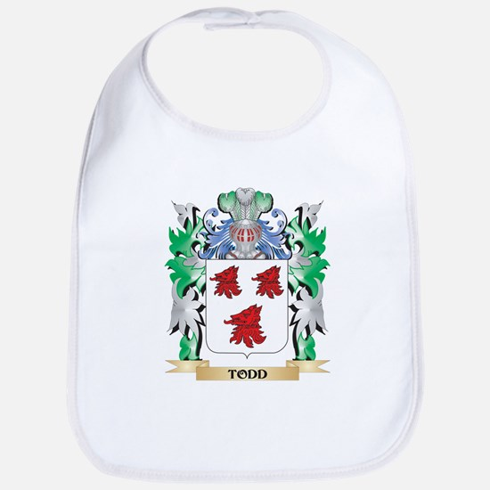 Todd Coat of Arms - Family Crest Bib