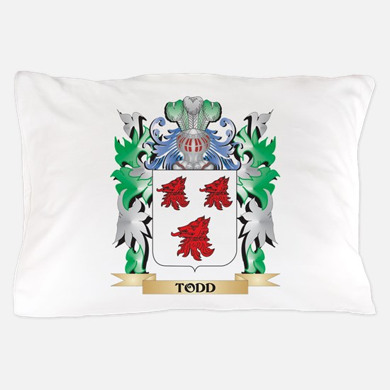 Todd Coat of Arms - Family Crest Pillow Case