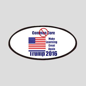 Trump no common core Patch