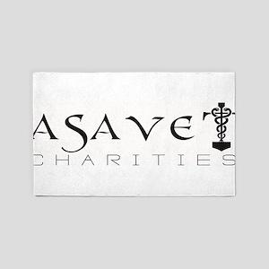 ASAVET Logo Area Rug
