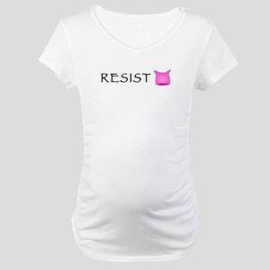 Pussyhat Resist Maternity T-Shirt