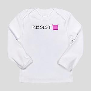 Pussyhat Resist Long Sleeve Infant T-Shirt