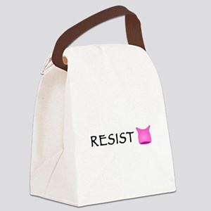 Pussyhat Resist Canvas Lunch Bag
