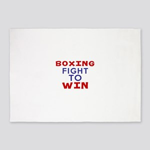 Boxing Fight To Win 5'x7'Area Rug