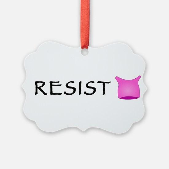 Pussyhat Resist Ornament