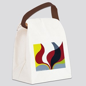 inspired by mid century vintage p Canvas Lunch Bag
