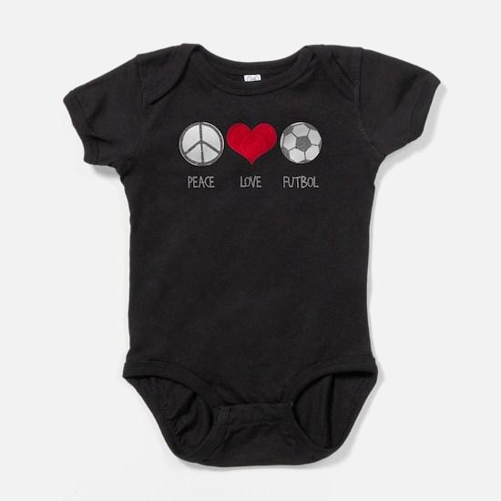 Cute Soccer baby Baby Bodysuit