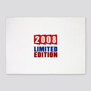 2008 Limited Edition Birthday 5'x7'Area Rug