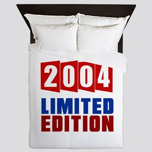 2004 Limited Edition Birthday Queen Duvet