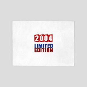 2004 Limited Edition Birthday 5'x7'Area Rug