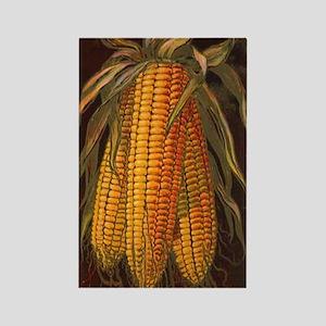 Corn Cobs Rectangle Magnet